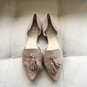 Vince Camuto Suede Flats - Size 9M